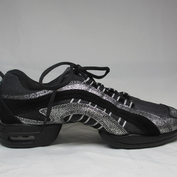 Skazz Shoes | Dance Sneakers Black And